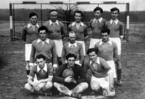 JSV Fußballer in den 50er Jahren